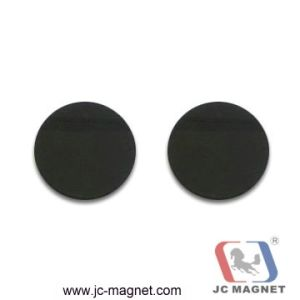 Soft Black Ferrite Disc Magnets pictures & photos