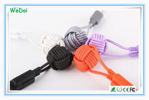 2017 New Mobile Phone USB Cable with Keychain (WY-CA35) pictures & photos