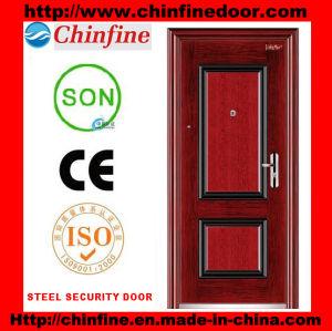 Steel Security Door (CF-007) pictures & photos