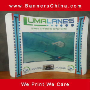 Exhibition Tension Fabric Display Stand pictures & photos