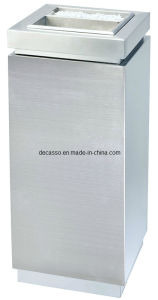 Stainless Steel Waste Can for Shopping Mall (DK92) pictures & photos