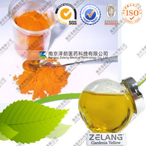 Narual Gardenia Extract E10-E550 Gardenia Yellow Pigment pictures & photos