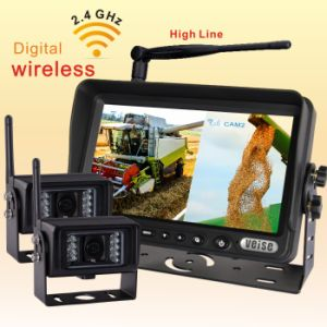 1/3 CCD Wireless Camera System with HD LCD Display for Tractor (DF-723H2362) pictures & photos