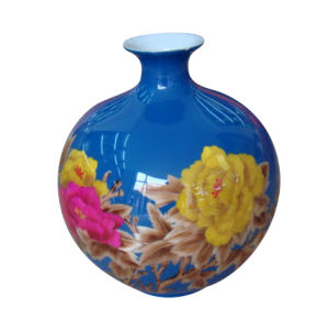Chinese Hand Painting Ceramic Vase Lw538 pictures & photos