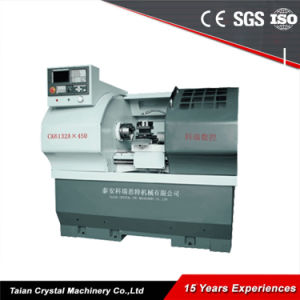 China Cheap Metal CNC Lathe Machine pictures & photos