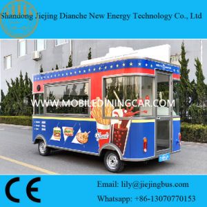 4 Meters Long Burger Concession Truck for Sale pictures & photos