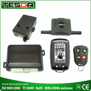 LCD Display 2-Way Remote Alarm (2690NRDP-296RS)