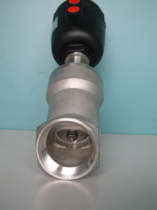 Pneumatic Operated Angle Seat Valve (J611F-1) pictures & photos