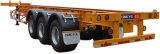 Cimc 45FT Triple Axle Skeleton Semi-Trailer Truck Chassis pictures & photos