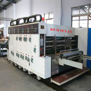 Multi Colors Corrugated Carton Printing Slotting Die Cutting Machine pictures & photos
