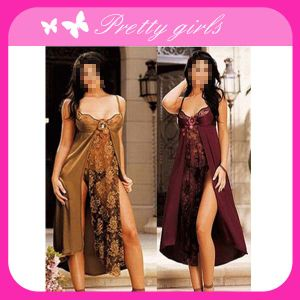 Women Sexy Long Gown Sleepwear