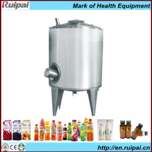 Double Jacketed Milk/Syrup Mixing Tank with 20 Years′ Experience pictures & photos