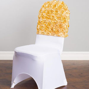 Solid Color Restaurant Spandex Chair Cover (DPH7658) pictures & photos