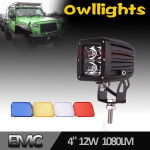 Square 12V LED Headlight 3inch 20W LED Work Light