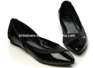 Women Black Flats Shoes Without Heels High Quality Shoes