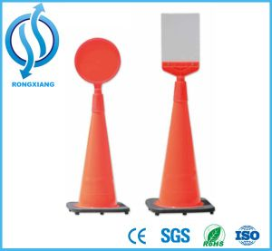 Assemble Cone Warning Post Sign pictures & photos