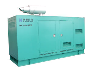 Soundproof Diesel Generator Set (HCM388) pictures & photos