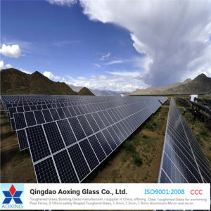 Low Iron Tempered Solar Glass for Photovoltaic Panel pictures & photos