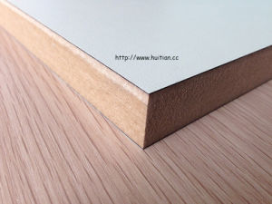 High Grade Laminated MDF/HDF for Kitchen and Furniture at Reasonable Price From Huitian Wood pictures & photos