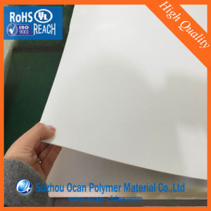 Opaque White Hard PVC Plastic Sheet or Roll for Printing pictures & photos