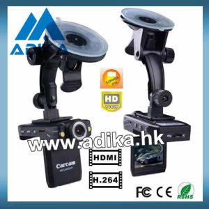 1080p Night Vision Car DVR with Rotatable Screen & Lens ADK-C138C
