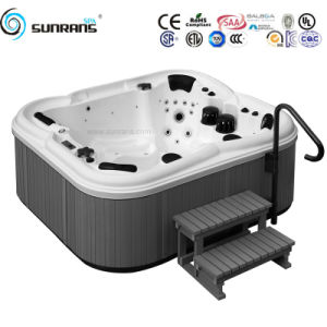 European Style Massage Bathtub and Hot Tub with Outdoor Massage Bathtub for Whirlpool SPA Bathtub pictures & photos