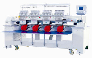 Embroidery Machine With Cap Device