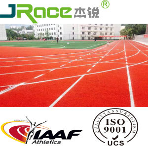 Easy Cleaning Rubber Running Track for Athletic Track and Field pictures & photos