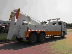 Special truck, 50 Ton Road Tow Wrecker Truck pictures & photos