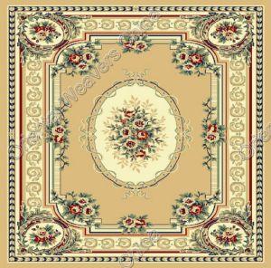 Machine Made Wool Bcf PP Carpet