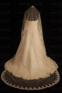 Wedding Veil-Cathedral Type (V00C-1)