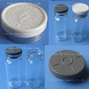 Custom Blue 20mm Flip Top Bottle Cover