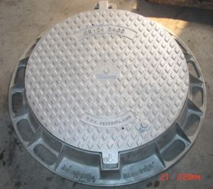 Heavy Duty Ductile Cast Iron Manhole Cover and Frame pictures & photos