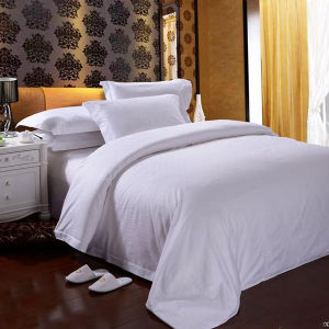 Star Hotel White Cotton Bedding Set/Duvet Cover pictures & photos