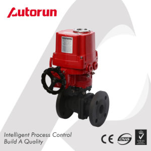 Anti Explosion Electrical Actuated Flanged Ball Valve pictures & photos