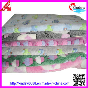 Printed Coral Fleece Blanket (xdb-021) pictures & photos