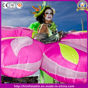 Customized New Design Inflatable Costume Balloon of Flower for Stage