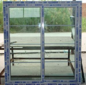 PVC Sliding Door with Frame pictures & photos