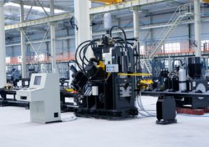 CNC Punching, Marking and Cutting Machine for Angles Model Bl2020c pictures & photos