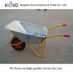 Silver Yellow Wheelbarrow for Ghana pictures & photos