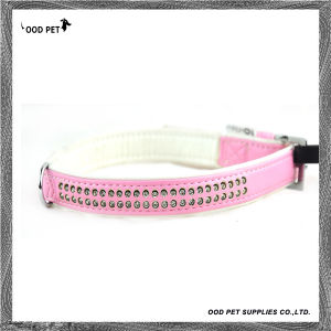 Pink Crystal Rows Pet Products, Pet Collars ,Dog Collar (SPC297-2) pictures & photos