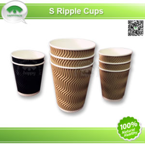 Corrugated Cup in S Style pictures & photos