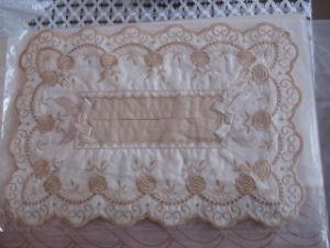 Embroidery Tissue Box Cover