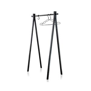 Simple Style Powder Coated Metal Single Rail Clothes Racks pictures & photos