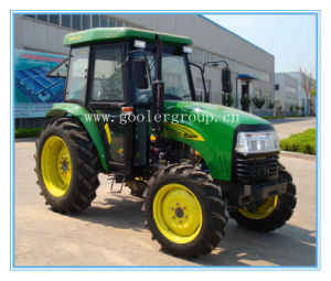 Farm Wheeled Tractor, 40HP/55HP 4X4, Dq404/Dq554 with Sunshade/Cabin pictures & photos