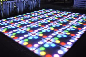 Stage DJ Lighting DMX Control Flower 60*60cm RGB LED Flower Dance Floor pictures & photos