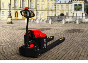 2 Ton Walkie Type Full Electric Pallet Truck pictures & photos