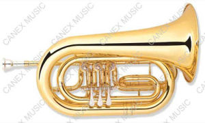 Bass Flugelhorn C Key (FL-100L) / Brass Instrument Flugelhorn pictures & photos