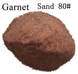 80# Sand Blasting Abrasive Garnet / 80 Mesh Water Jet Cutting Garnet pictures & photos
