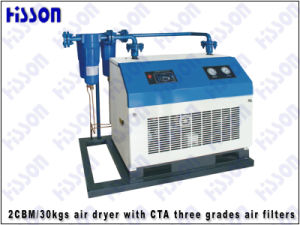 1cbm/30kgs Air Dryer with CTA Three Grades Air Filters pictures & photos